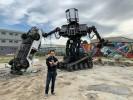 """15 Tonnen Riesen-Mech Roboter """"Eagle Prime"""" von MegaBots"""