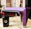 Violettes Hybrid-Piano - speziell für PRINCE gebaut