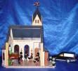 Playmobil Beerdigung mit Kirche und Verstorbenem