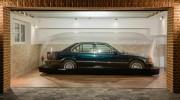 7er-BMW wie neu in Luftkapsel